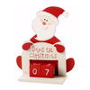 Days Til Christmas Santa Wooden Calender