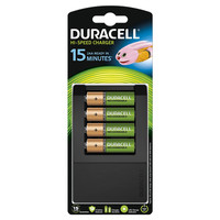 Duracell 15 Minute AA / AAA Battery Charger With 4 x AA 1300mah