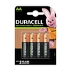 Duracell AA Rechargeable Batteries NiMH Stay-Charged 1300mAh - 4 Pack