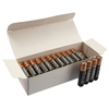 Duracell AAA LR03 MN2400 High Power Alkaline Batteries - White Box of 40