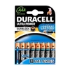 Duracell AAA LR03 MN2400 Ultra Power Batteries with POWERCHECK - Value 8 Pack
