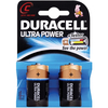 Duracell ULTRA POWER C Cell (LR14 / MX1400) Alkaline Batteries - Pack of 2
