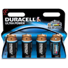 Duracell ULTRA POWER C Cell LR14 MN1400 MX1400 High Power Alkaline Batteries - Value Pack of 4
