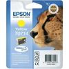 **EOL** Epson Original T0714 Cheetah Ink Cartridge 5.5ml Yellow