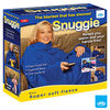 JML Snuggie Blanket - Soft-to-Touch Fleece with Large,  Loose Sleeves - Blue