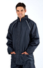 Mens Waterproof Jacket with reflective panels - Navy - Size XXL