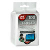 One For All SV8405 Scratch Free 100 x Soft Wet Cleaning Wipes For all LCD and LED TV Screens