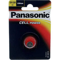 Batteries  - Panasonic Cell Power CR1220 Lithium Coin Cell Battery