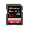MM & SD Cards Sandisk Extreme Pro SDXC SD Memory Card UHS-1 U3 V30 95MB/s - 64GB