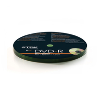 Verbatim  - TDK DVD-R Recordable Discs - 4.7GB - 16x Speed - 120 min - 5 Pack in Shrink Wrap