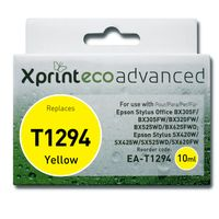 Ink Cartridges for printers  - Xprint EcoAdvanced Epson T1294 Apple Ink Cartridge 10ml Yellow