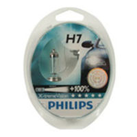 H7 Philips X-treme Vision +100% Headlight Bulbs (Pair)