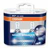 Light Bulbs OSRAM Night Breaker Plus H7 12V 55W +90% headlight bulbs