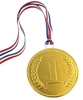 75mm chocolate medal - Bulk case of 24 medals