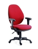 Office Supplies Syncro Tek Executive 24 Hour Use Chair With Adjustable Arms Burgundy