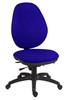 Office Supplies Syncrotek Executive 24 Hour Use Chair Blue