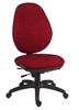 Office Supplies Syncrotek Executive 24 Hour Use Chair Burgundy
