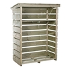 Small Wooden Garden Store for Heavy Duty Firewood Storage