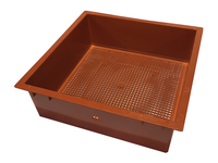 Home & Garden  - Tiger Wormery Sump Holding Tray in Terracotta