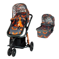 Baby Products  - Giggle 3 Pram and Pushchair Charcoal Mister Fox