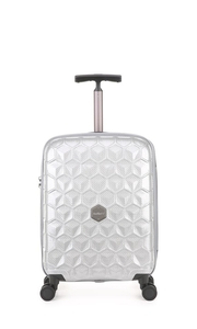 Atom Exclusive Cabin Suitcase 55x40x20cm Silver