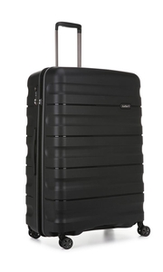 Cases  - Juno II 2 Piece Suitcase Set Large and Cabin Black