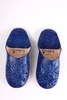 Bohemia Design Moroccan Babouche Sequin Slippers Slight Seconds,  Large (),  Cobalt