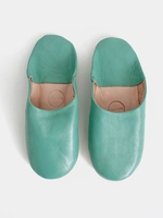 Slippers & Clogs  - Bohemia Design | Moroccan Basic Babouche Slippers Slight Seconds, Large () , Ballet Pink