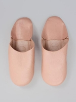 Slippers & Clogs  - Bohemia Design | Moroccan Basic Babouche Slippers Slight Seconds, Small () , Ballet Pink