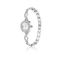 Clothing & Accessories  - Ladies Watch Link Bracelet Double Clasp