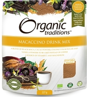 Health & Wellbeing  - Macaccino Drink Mix (227g)