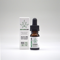 Health & Wellbeing  - 5% CBD Oil - 3 For 2 - Unflavoured / 10ml