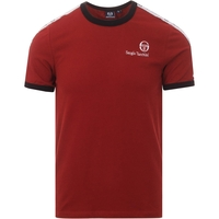 Clothing & Accessories  - Sergio Tacchini Dalhoa Merlot Taped Shoulder T-Shirt