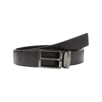Clothing & Accessories  - Calvin Klein Black/Brown Reversible Leather Belt - ONESIZE