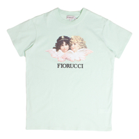 Clothing & Accessories  - Fiorucci Mint Green Vintage Angels T-Shirt - Large