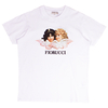 Fiorucci White Vintage Angels T-Shirt - Small