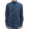 3 BUTTON POLKADOT SHIRT