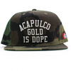 Acapulco Gold Is Dope Snapback Camo