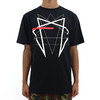 Black Scale Within Tee Black