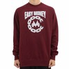 Crooks And Castles Easy Money Burgandy Sweatshirt