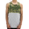 Crooks And Castles Thieves Tank Top Camo Green