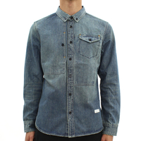 Mens  - D.I.E Light Blue Denim Lw Shirt