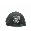 Men's New Era Oakland Raiders Team Mesh Mix Cap Black