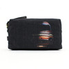 Paul Smith Accessories Cross Stitch Print Black Wash Bag