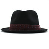 Paul Smith Accessories Wool Felt Black Trilby