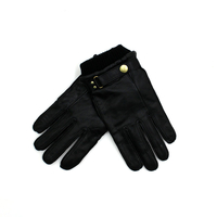 T-Shirts, Polos & Tops  - Paul Smith Wool Cuff Leather Gloves Black