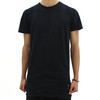 Religion Long Double Zip Tee Shirt Black