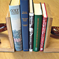 Sport & adventure  - St Andrews Golf Course Book Ends