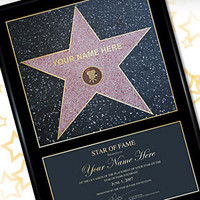 Star of Fame Gifts
