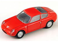Vehicles  - Abarth Simca 1300 Bialbero Coupe (1962) Resin Model Car